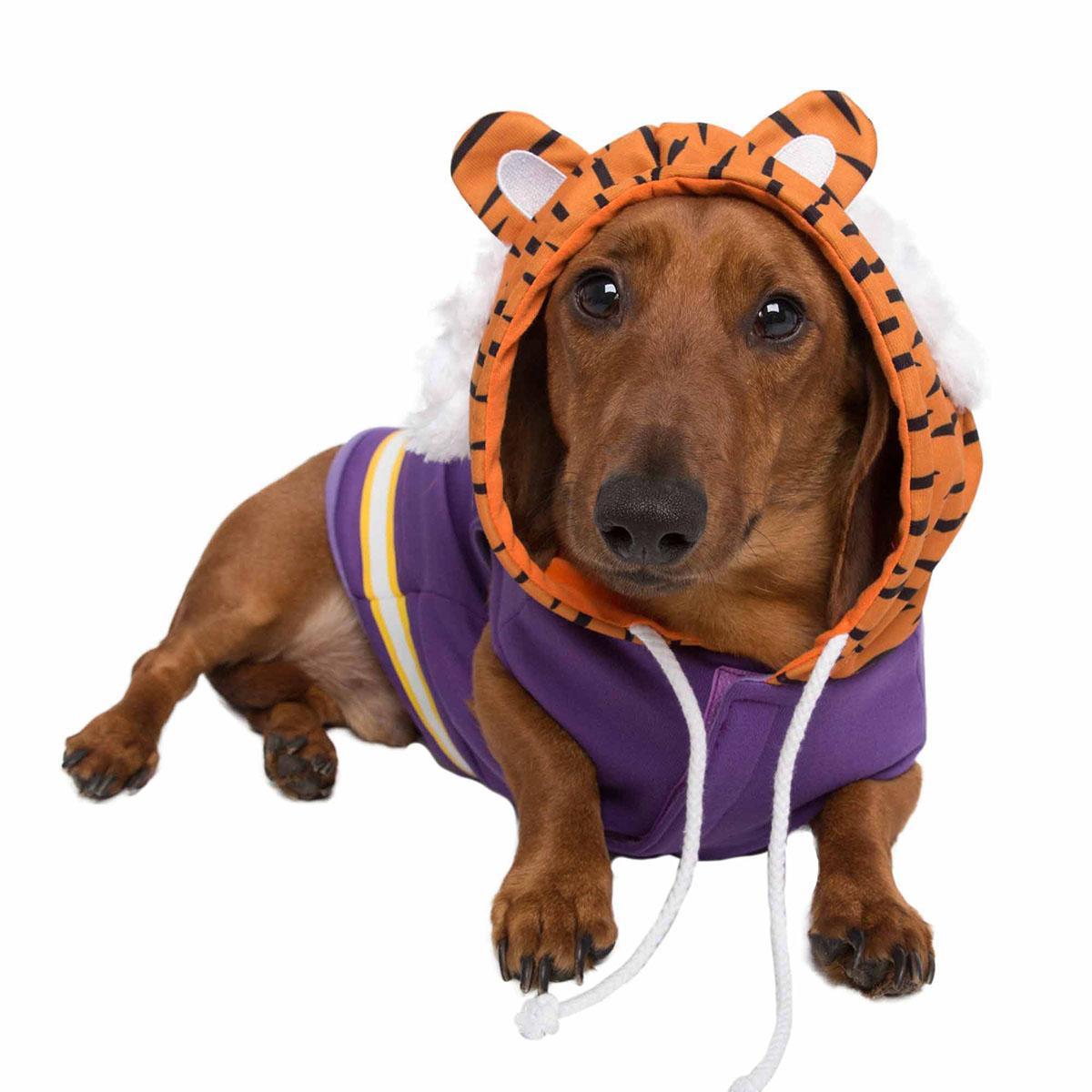 Pet Krewe LSU Mike the Tiger Dog Hoodie