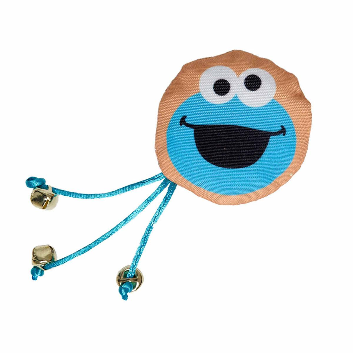 Pet Krewe Sesame Street Cat Toy - Cookie Monster