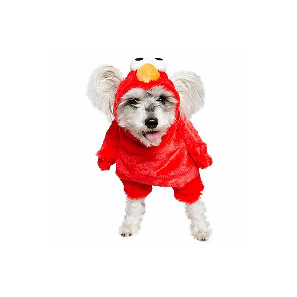 Pet Krewe Sesame Street Elmo Dog Costume