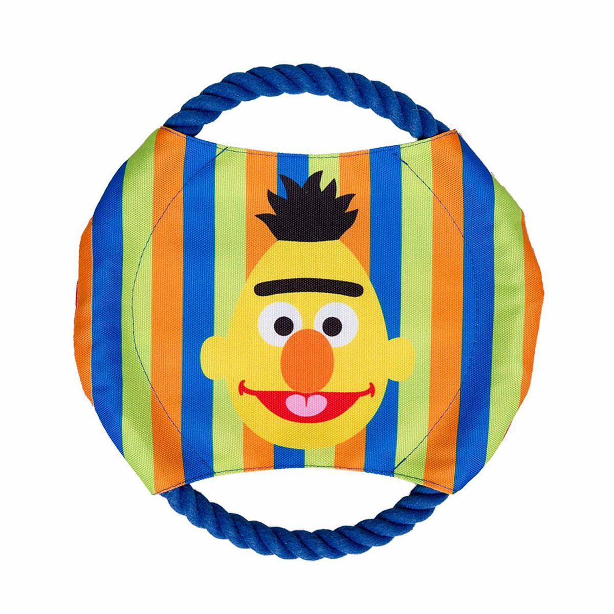 Pet Krewe Sesame Street Frisbee Dog Toy - Bert & Ernie
