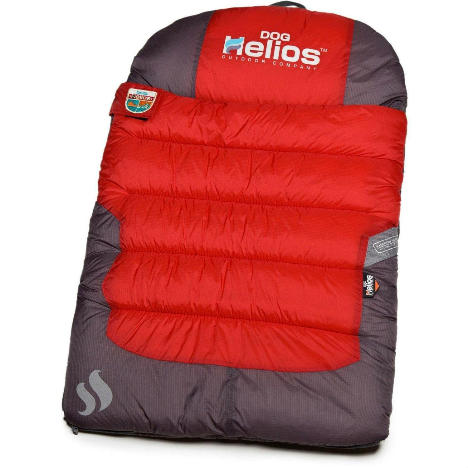 Pet Life Helios Trail-Barker Travel Camping Dog Bed - Red