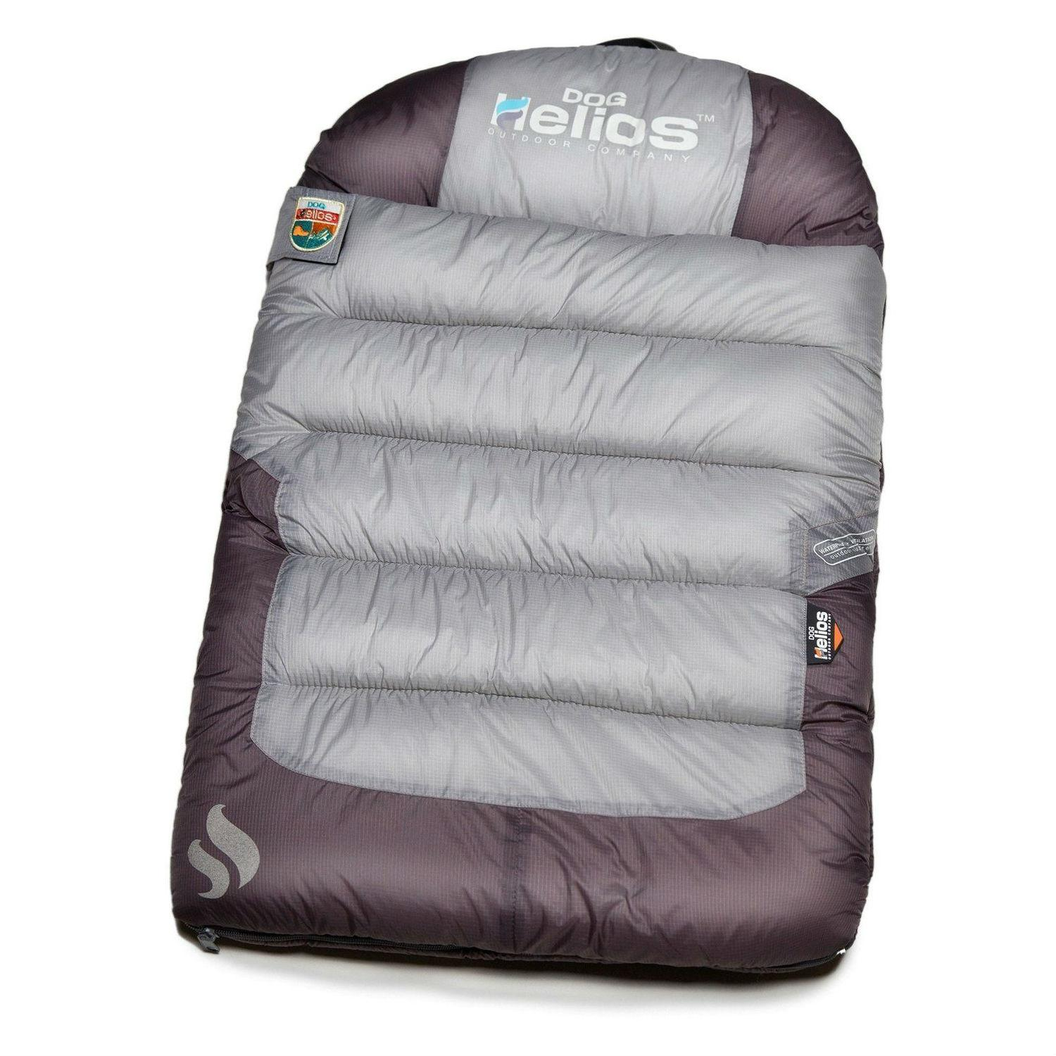 Pet Life Helios Trail-Barker Travel Camping Dog Bed - Gray