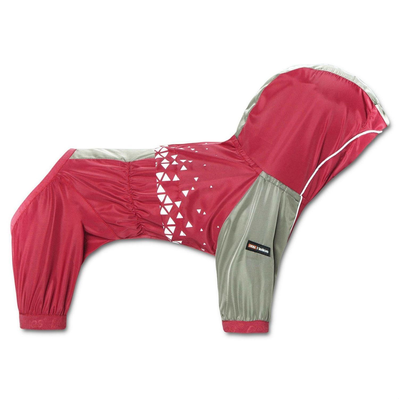 Pet Life Helios Vortex Full Bodied Waterproof Dog Jacket - Red