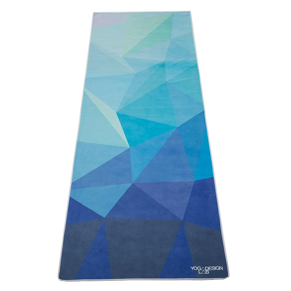 PET Mat Towel - Geo Blue