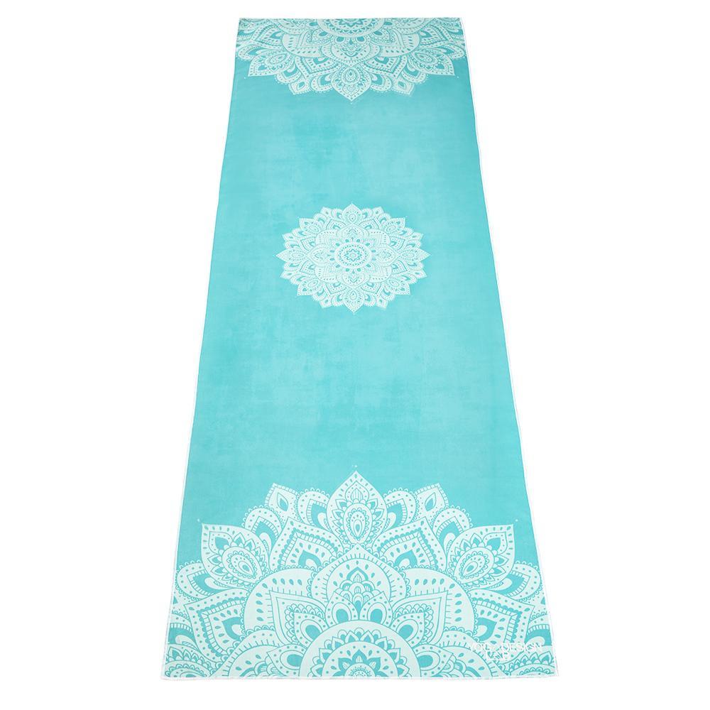 PET Mat Towel - Mandala Turquoise