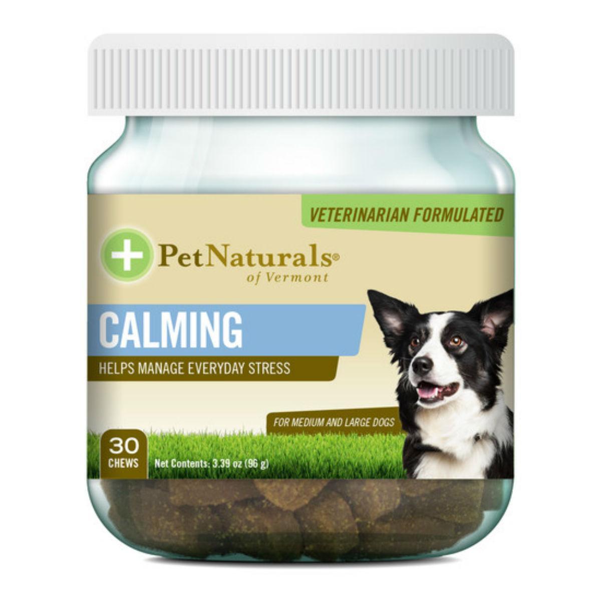 Pet Naturals Calming Chews for Medium & Large Dogs