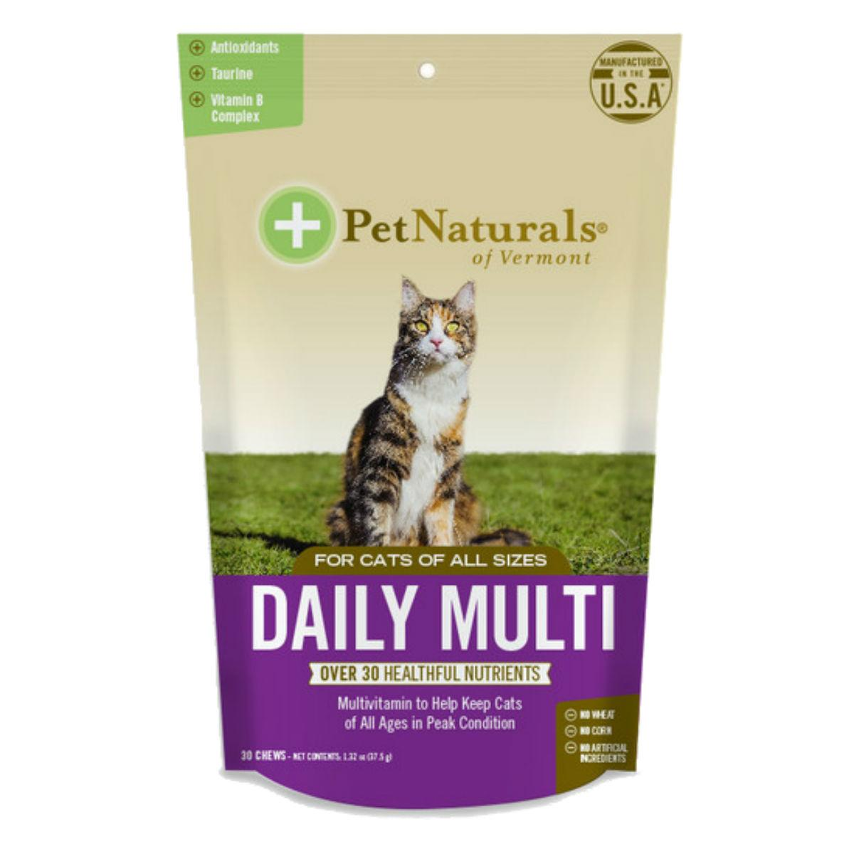 Pet Naturals Daily Multi Cat Chews