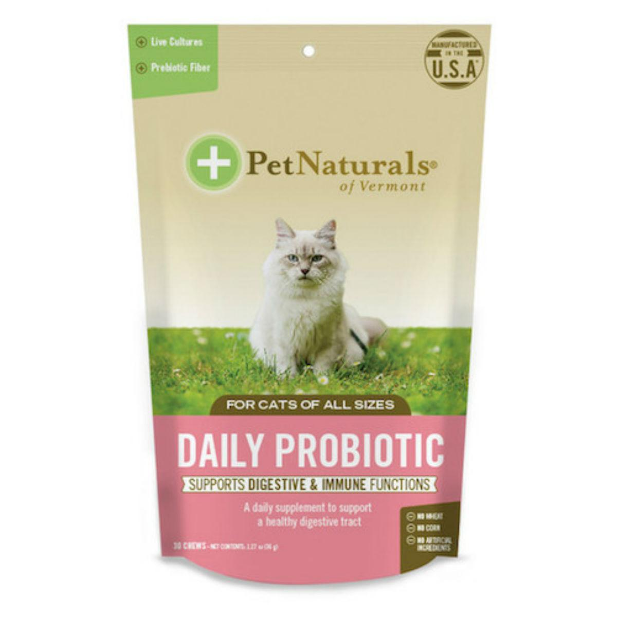 Pet Naturals Daily Probiotic for Cats
