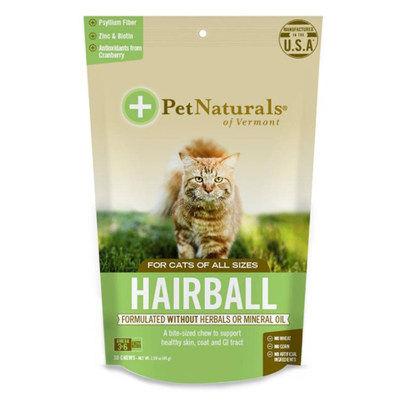 Pet Naturals Hairball Cat Supplement