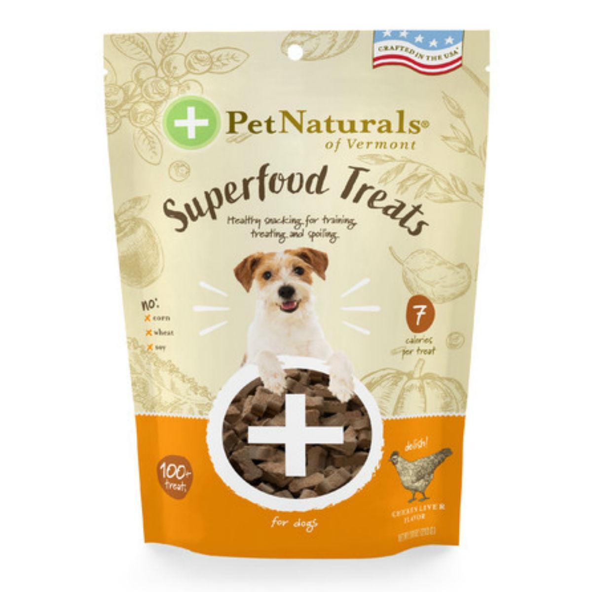 Pet Naturals Superfood Dog Treats - Homestyle Chicken Flavor