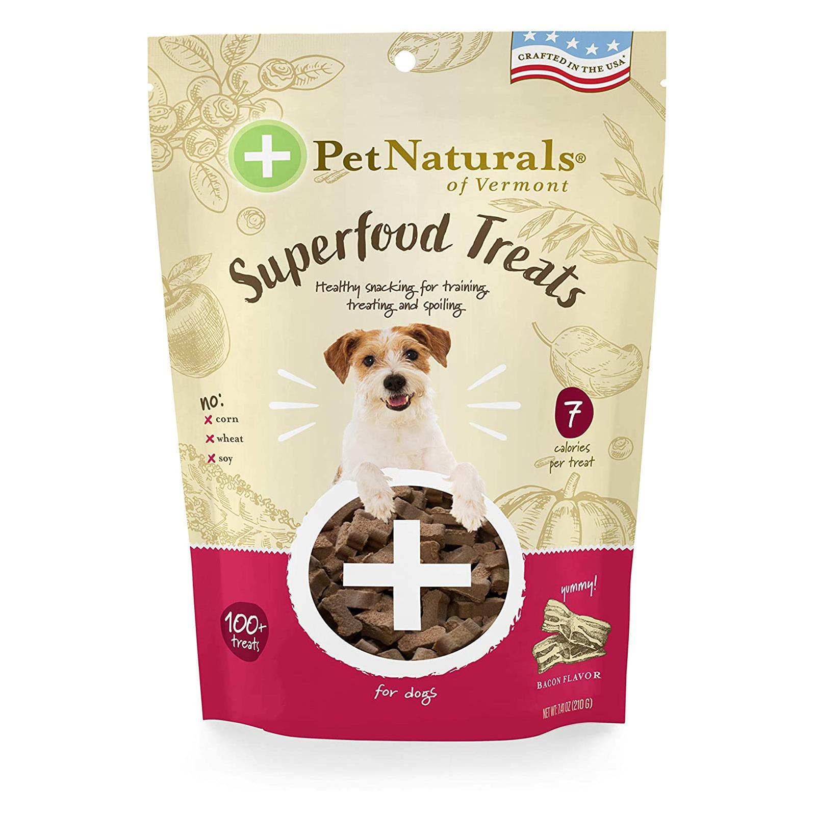 Pet Naturals Superfood Dog Treats - Crispy Bacon Flavor