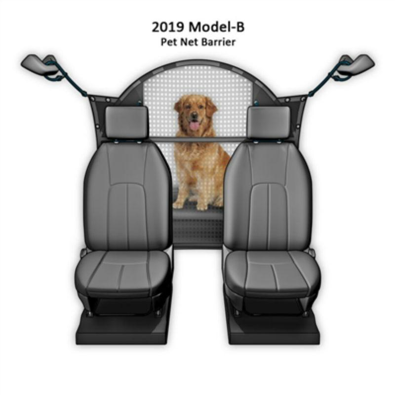 Pet Net Mesh Vehicle Safety Barrier