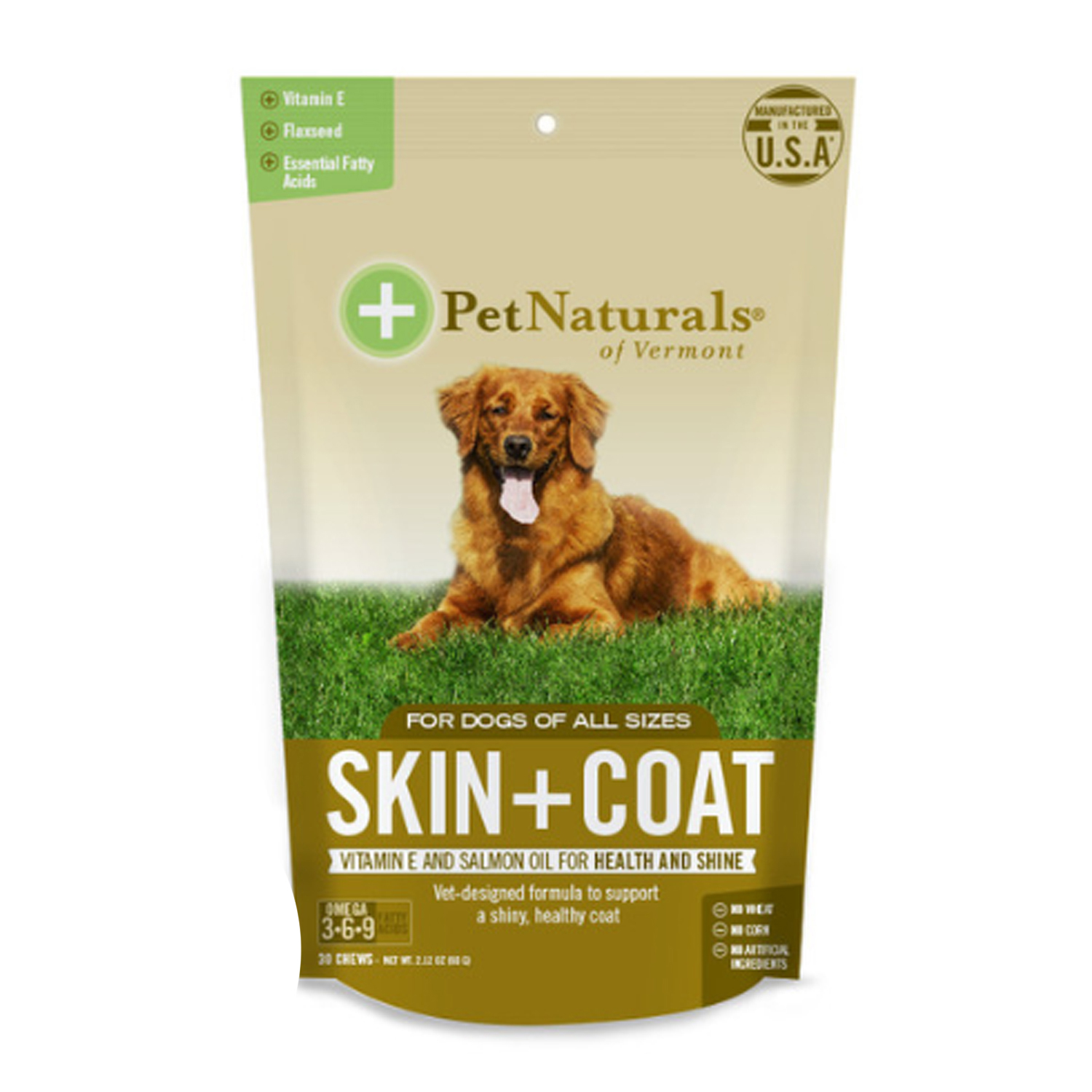 Pet Naturals Skin and Coat Dog Chews