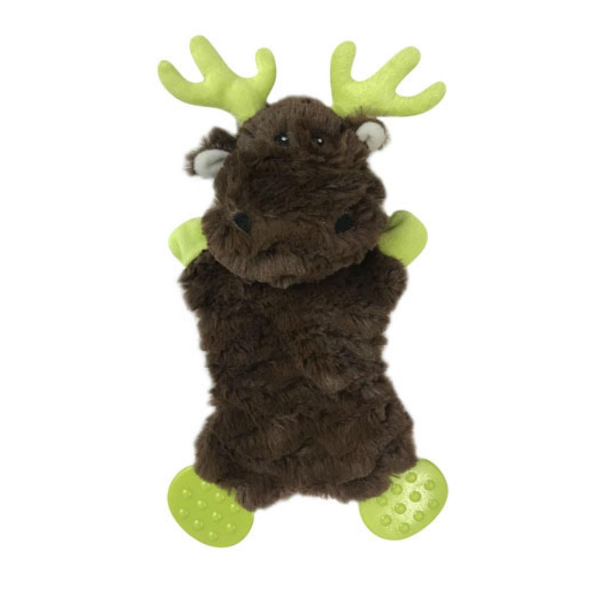 Pet Park Blvd Flatties Plush Toy - Moose