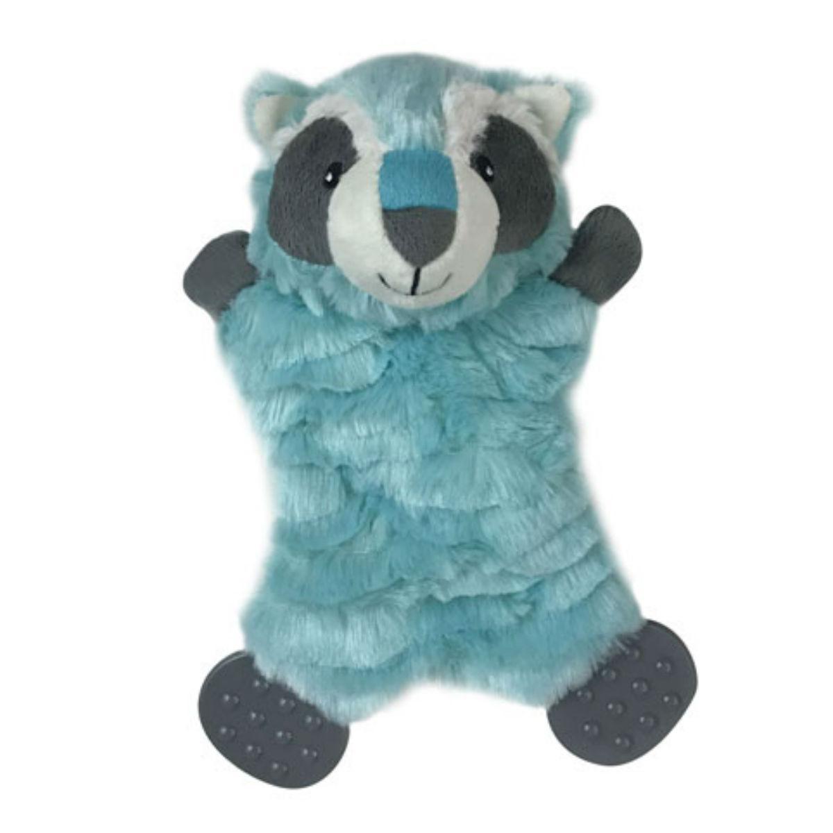 Pet Park Blvd Flatties Plush Toy - Raccoon