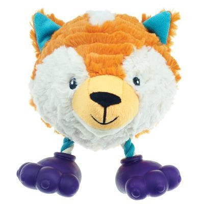 Pet Park Blvd Footies Dog Toy - Fox
