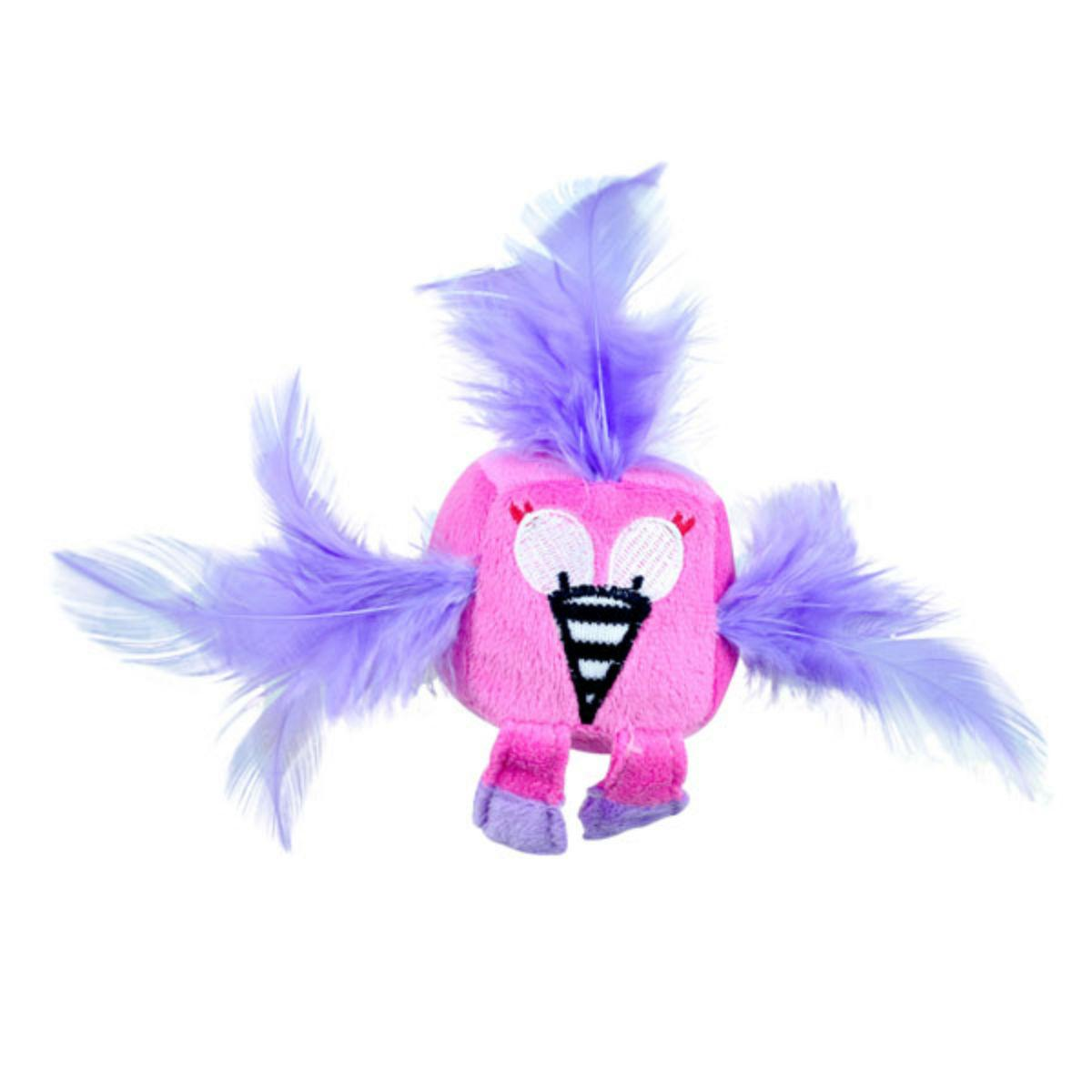 Pet Park Blvd Funny Feathered Flamingo Cat Toy