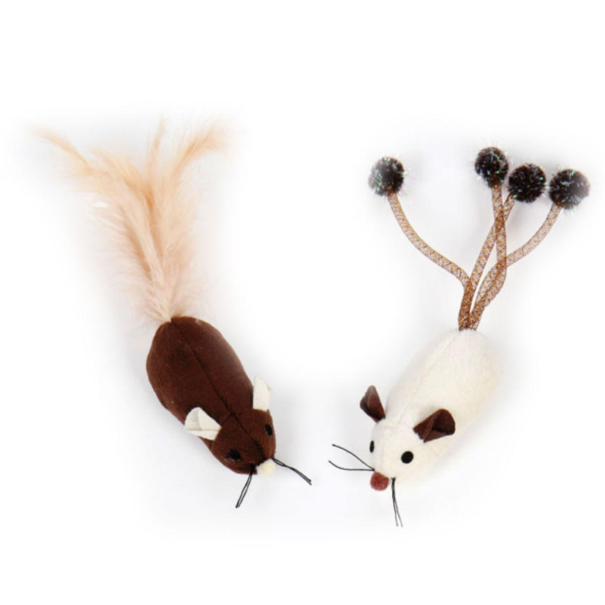 Pet Park Blvd Long Tail Mice Cat Toy