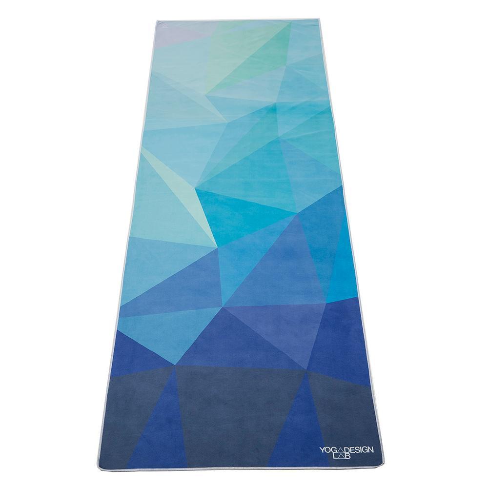 PET Power Grip Towel - Geo Blue