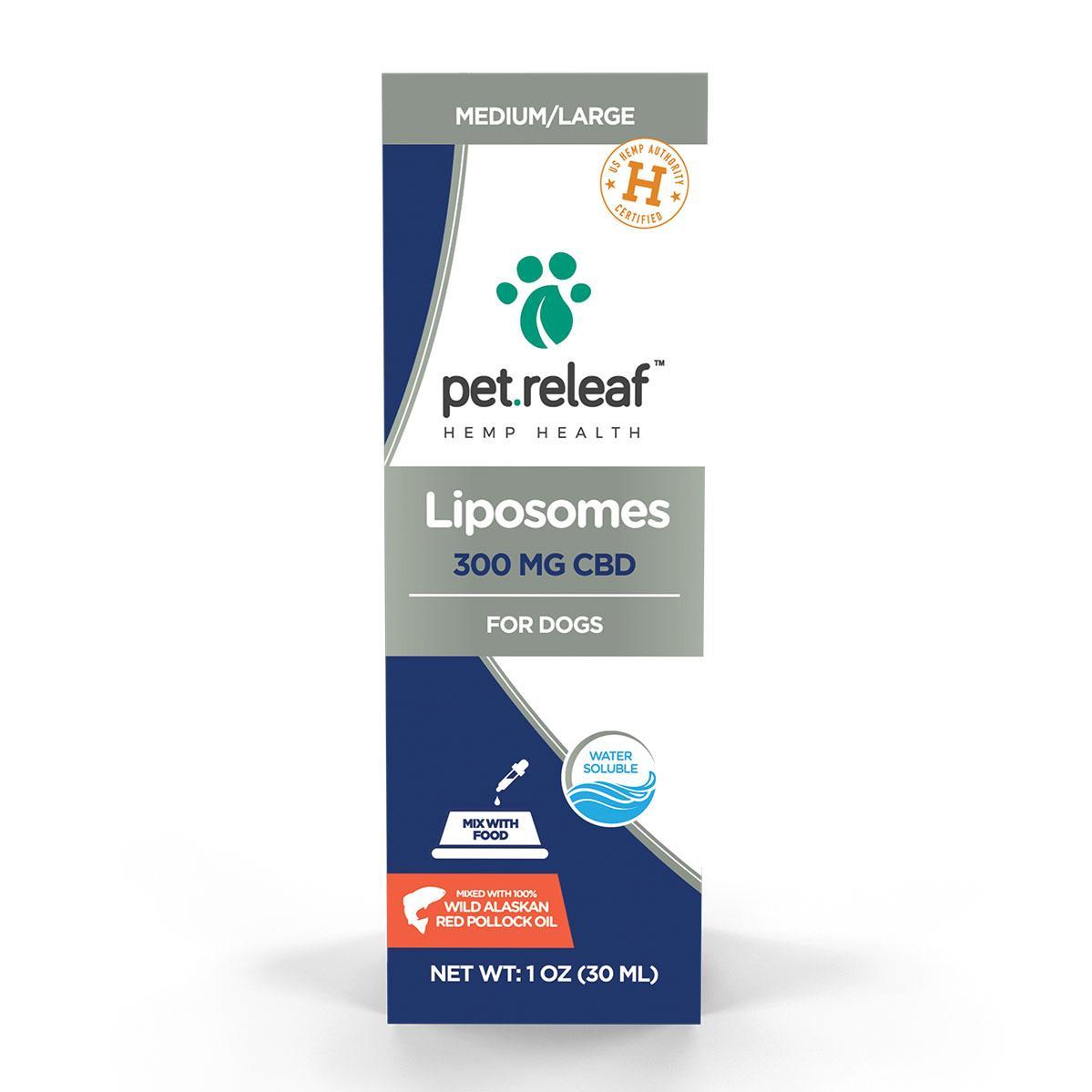 Pet Releaf Liposome CBD Hemp Oil 300