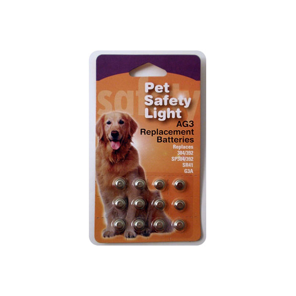 Pet Blinkers Safety Light Replacement Batteries 12pk
