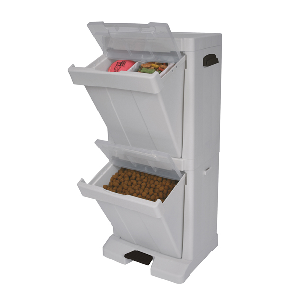 Pet Stuff Storage Tower - 2-Bin