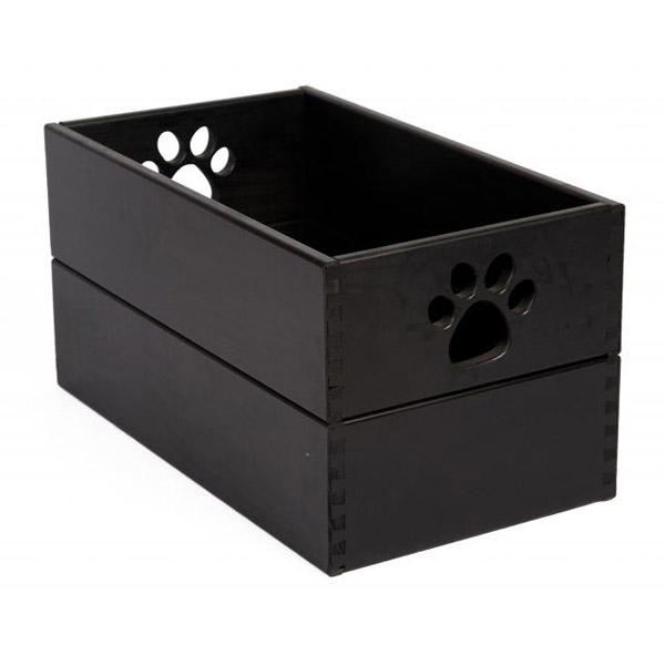 Beau Pet Toy Box   Classic Black
