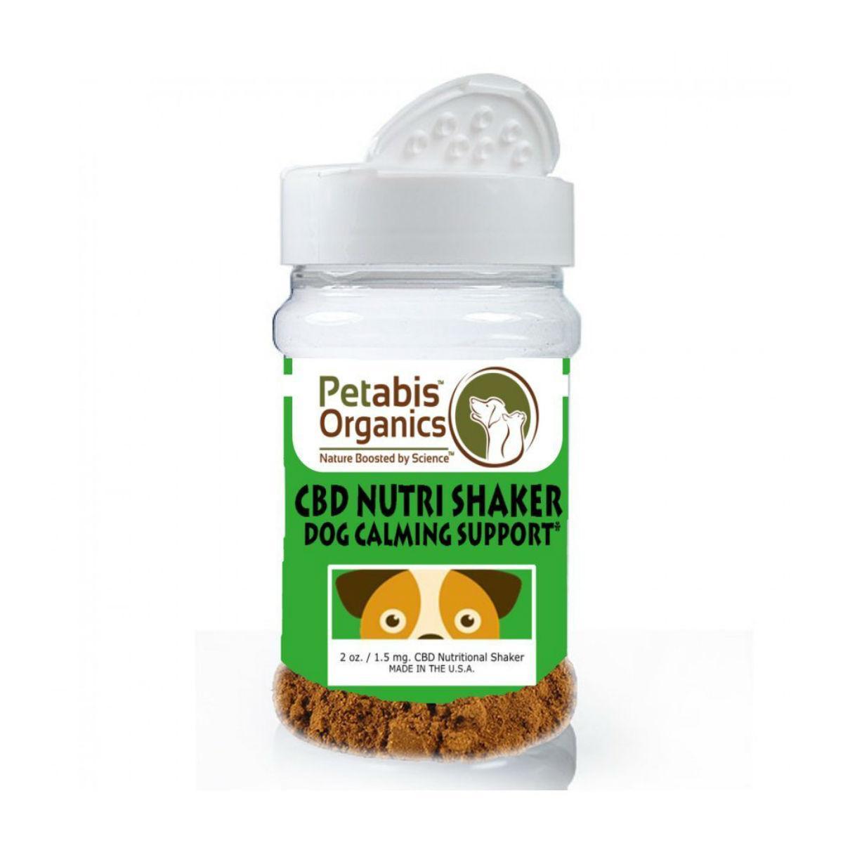 Petabis Organics CBD Calming Nutri Shaker Dog Food Topper