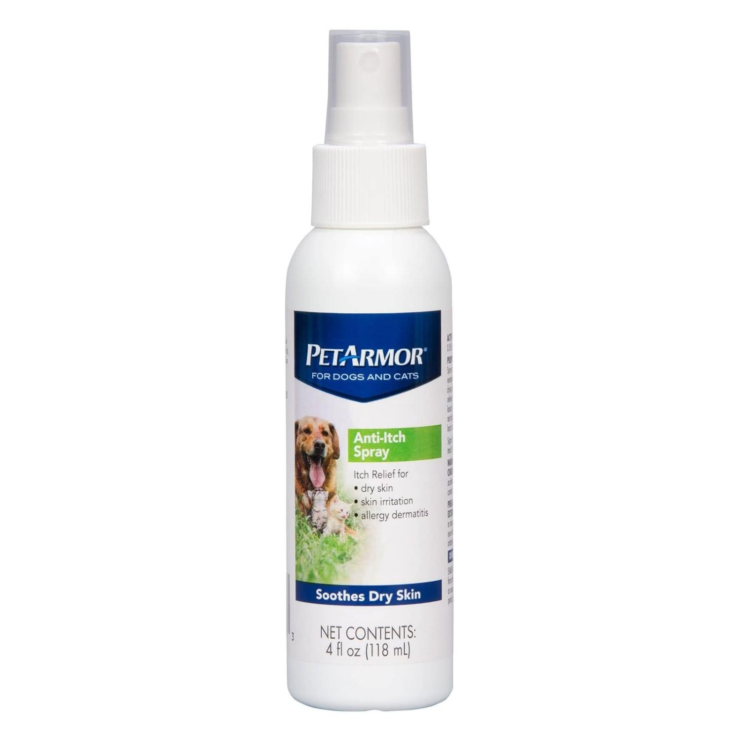 PetArmor Anti-Itch Spray for Dogs and Cats