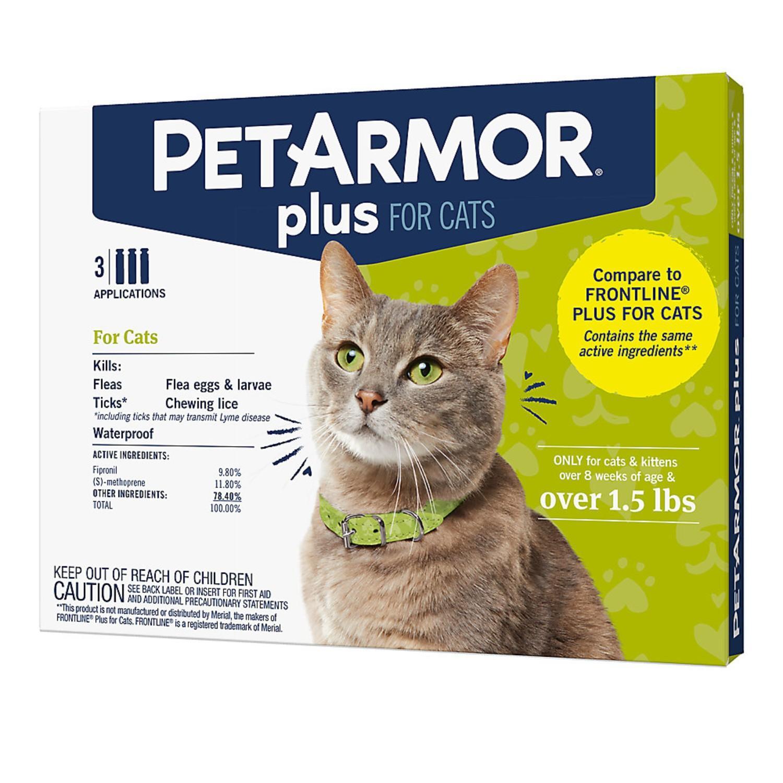 PetArmor Plus Cats Flea & Tick Spot On Treatment