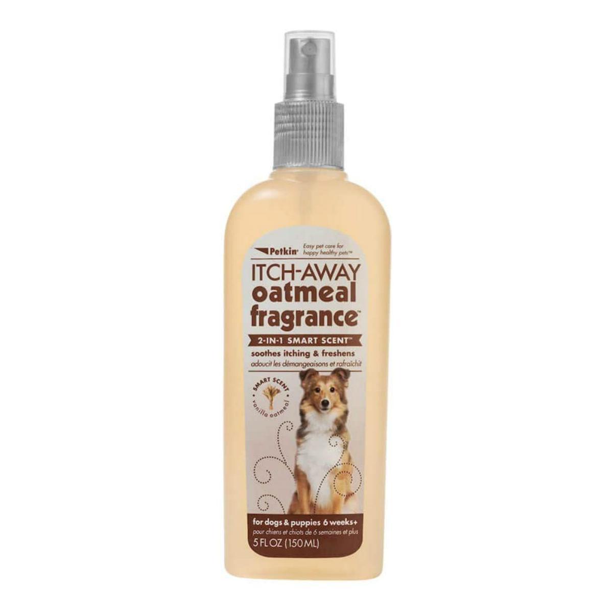PetKin Itch-Away Oatmeal Dog Fragrance