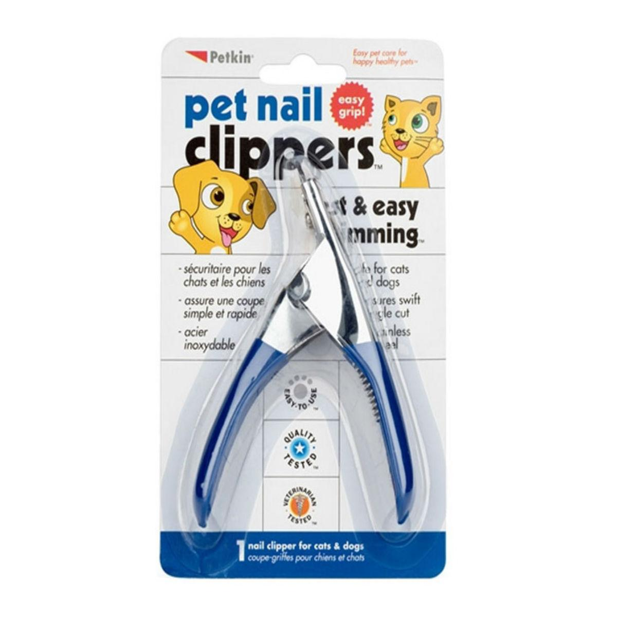 PetKin Pet Nail Clipper for Dogs and Cats