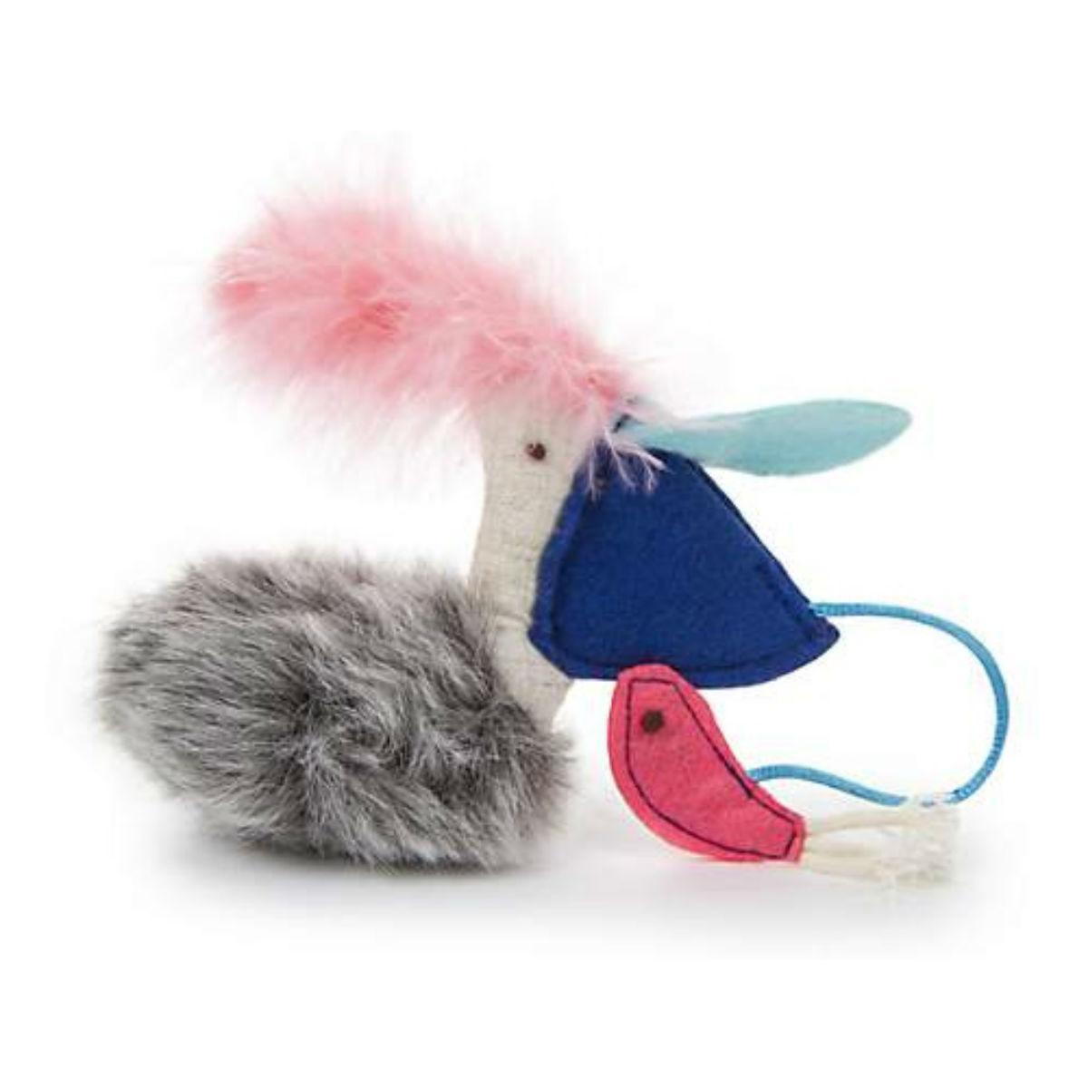 PetLinks Sea Hide & Peek Pelican & Fish Catnip Cat Toy