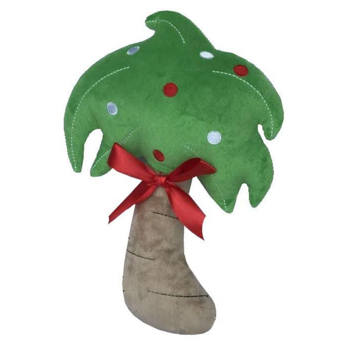PetLou Christmas Palm Tree Dog Toy