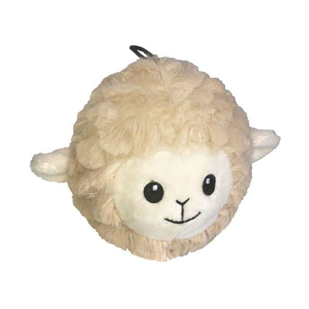 PetLou EZ Squeaky Lamb Dog Toy