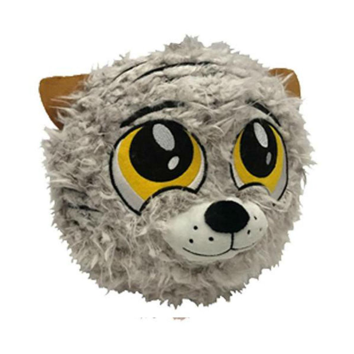 PETLOVE Fuzzy Ball Dog Toy - Tiger