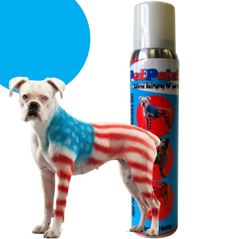 PetPaint Color Dog Hair Spray - Blue