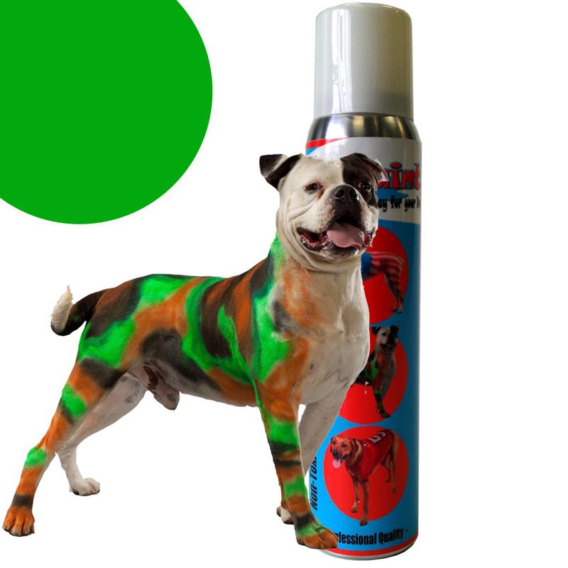 Petpaint Color Dog Hair Spray Green Baxterboo