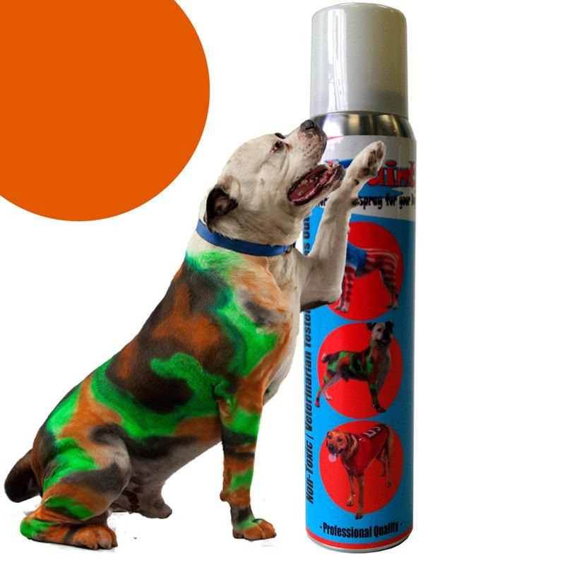 Petpaint Color Dog Hair Spray Orange