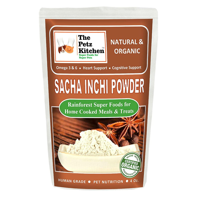 Petz Kitchen Sacha Inchi Powder Dog and Cat Supplement