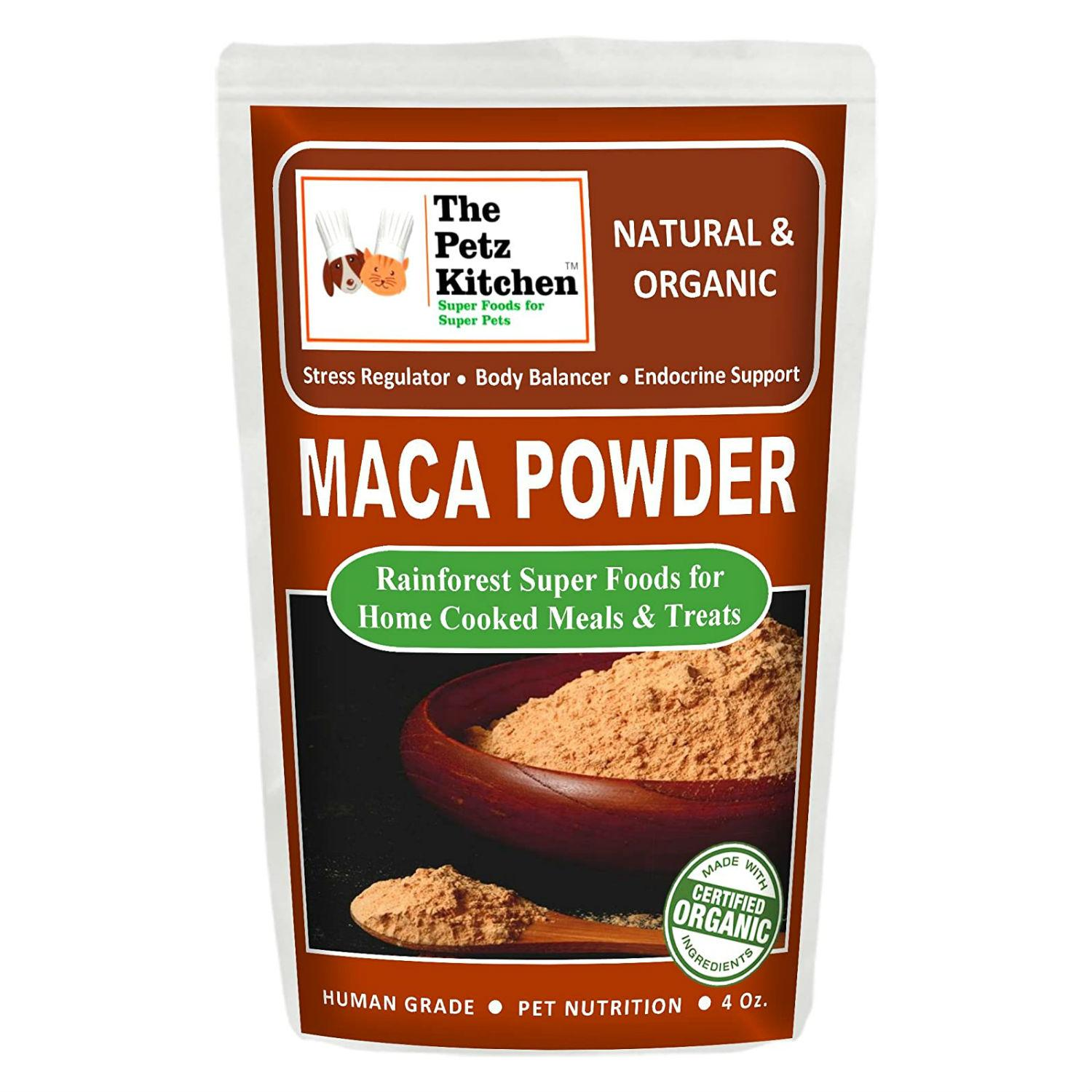 Petz Kitchen Maca Powder Dog and Cat Supplement