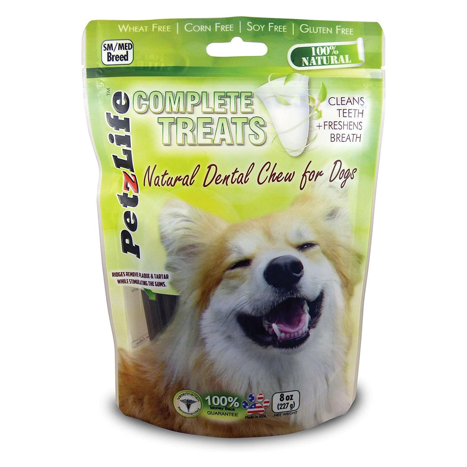 PetzLife Complete Treats Natural Dental Chews