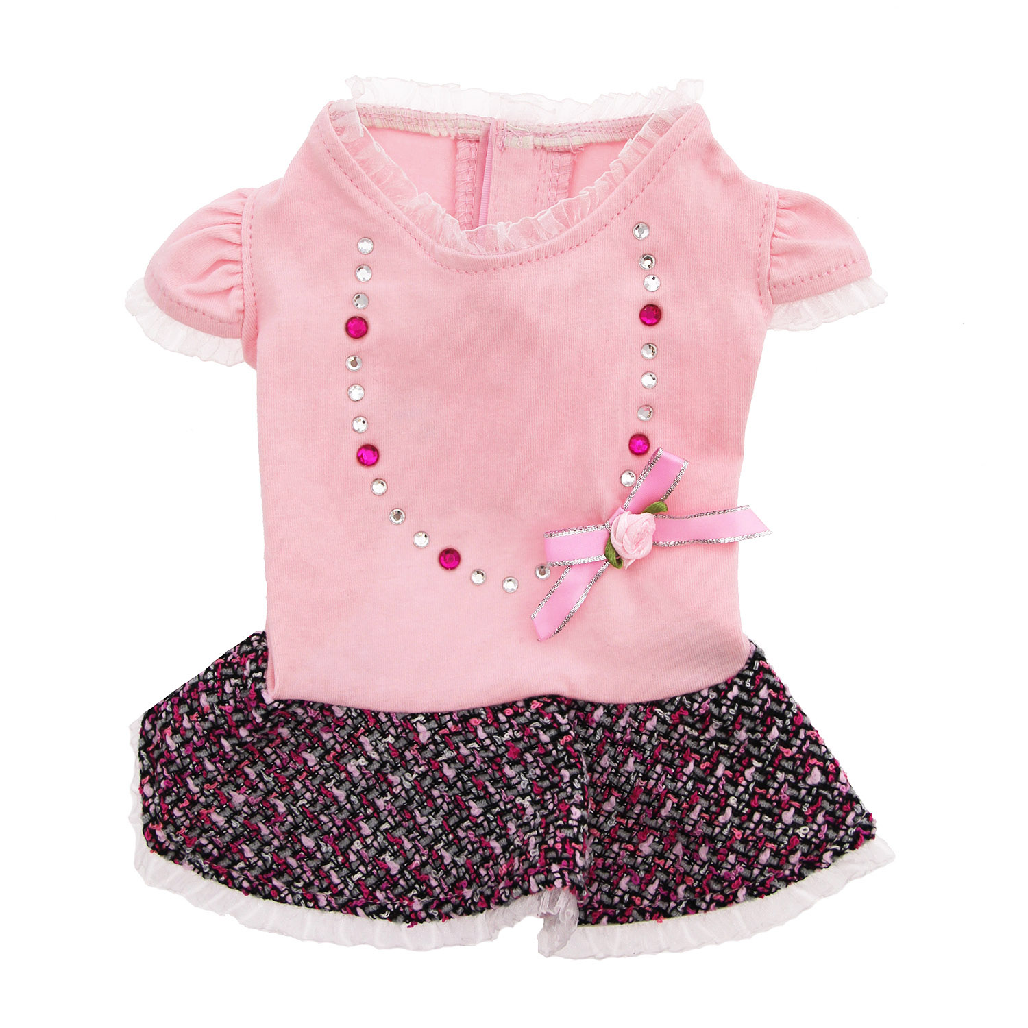 Peyton Party Dog Dress - Pink