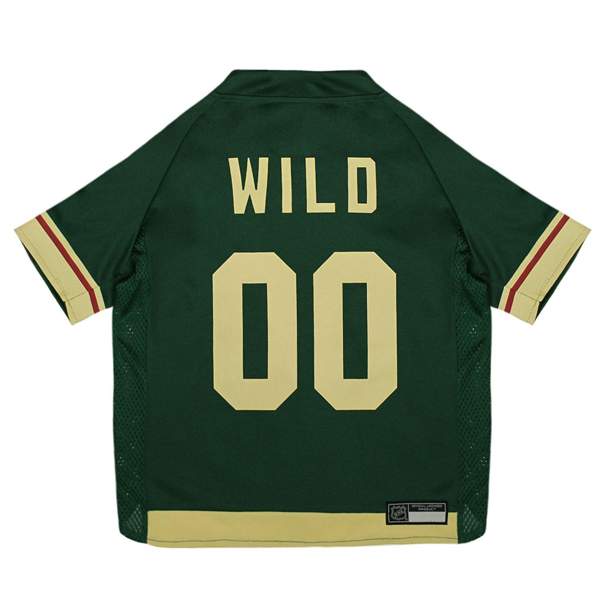 Minnesota Wild Alternate Dog Jersey