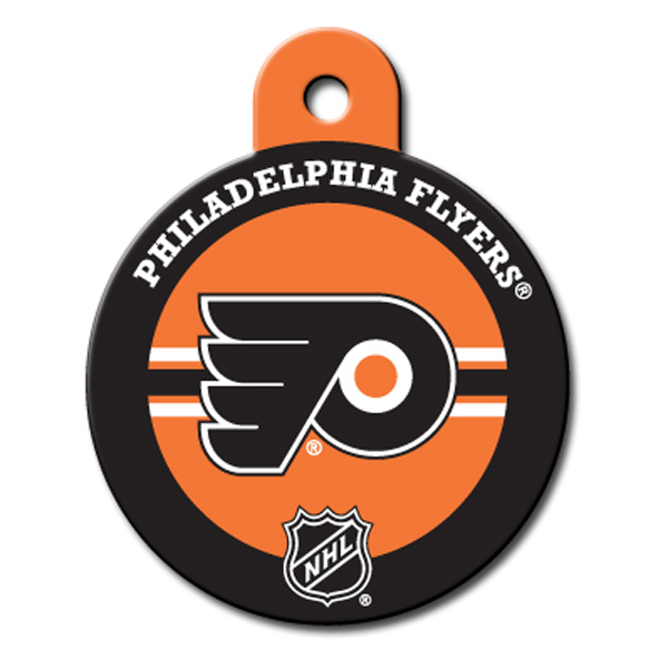 Philadelphia Flyers Engravable Pet I.D. Tag
