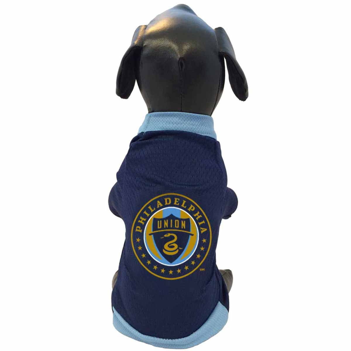 Philadelphia Union Athletic Mesh Dog Jersey