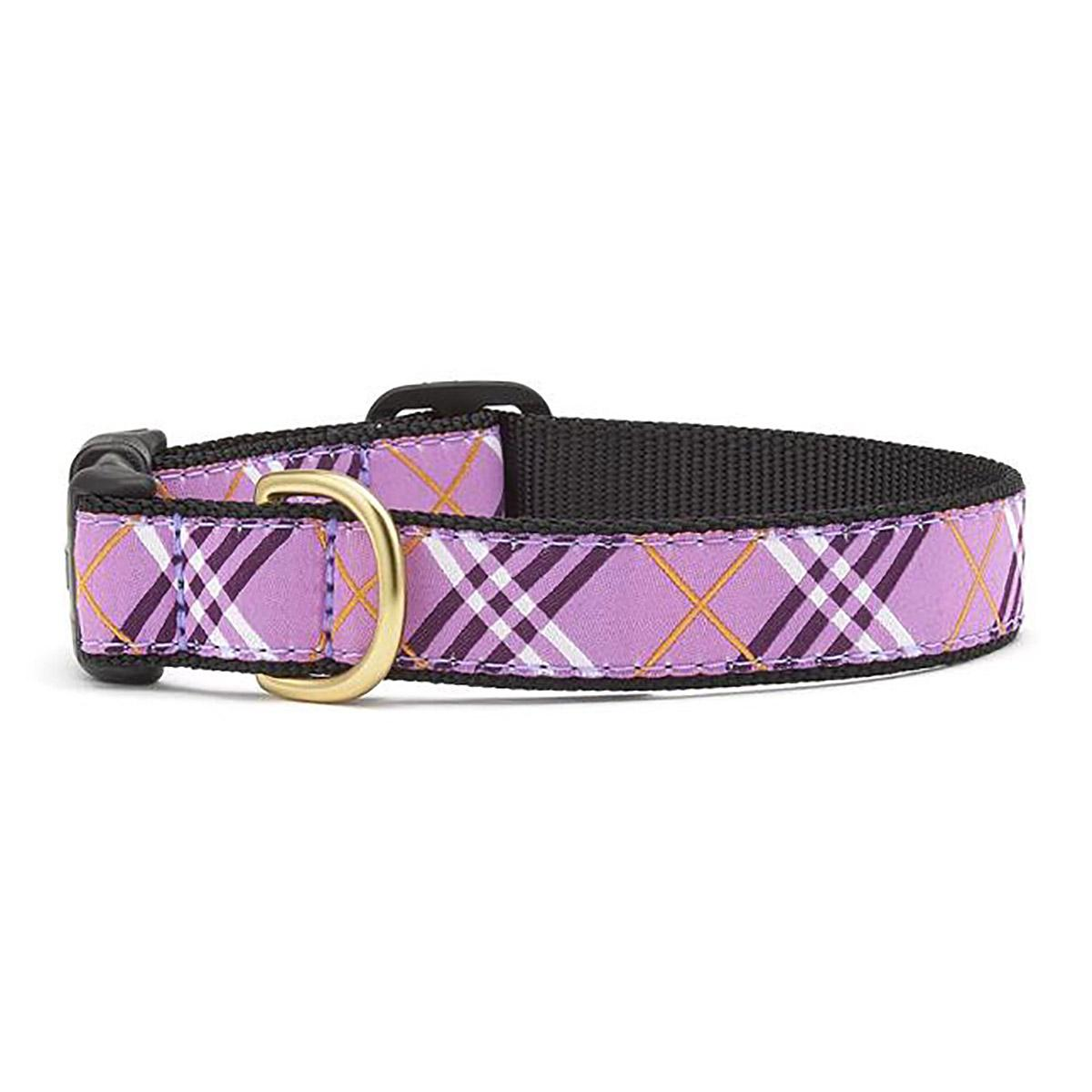 Lavender Lattice Dog Collar by Up Country