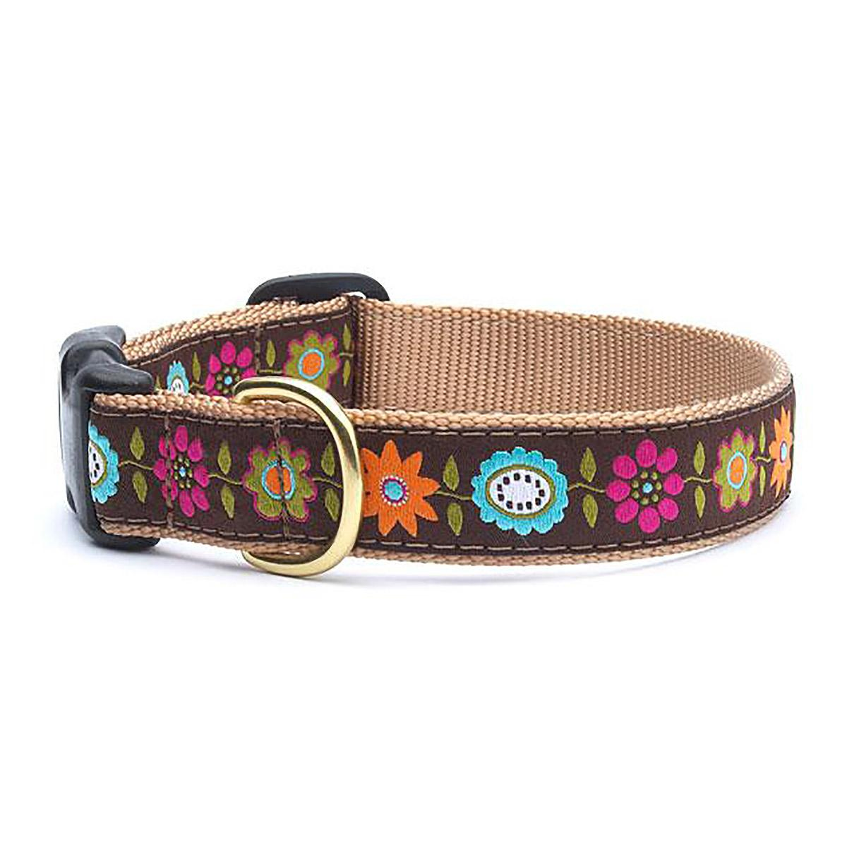 Bella Floral Dog Collar by Up Country