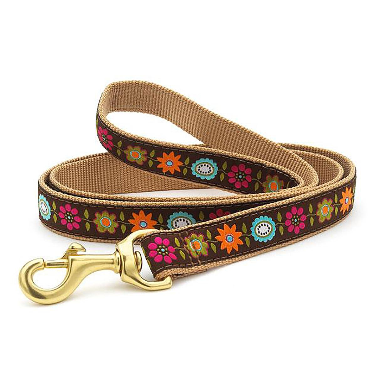 Bella Floral Dog Leash by Up Country