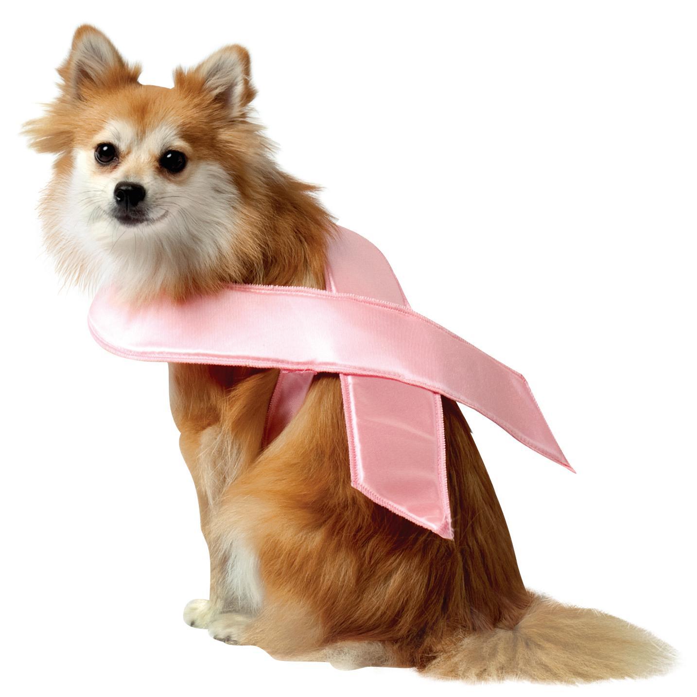 Pink Ribbon Dog Costume by Rasta Imposta